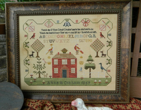click here to view larger image of Anna M Teach Me Sampler (chart)