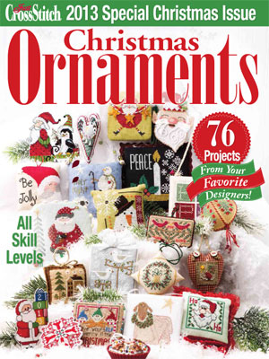 click here to view larger image of Just Cross Stitch 2013 Christmas Ornaments  (magazines)