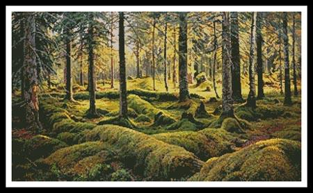 click here to view larger image of Forest Cemetery  (Ivan Shishkin) (chart)