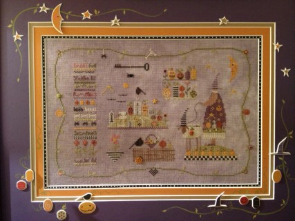 click here to view larger image of Garden Spells (counted cross stitch kit)
