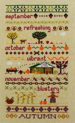 click here to view larger image of Autumn Band Sampler (chart)
