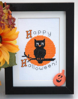 click here to view larger image of Hallloween Owl (chart)