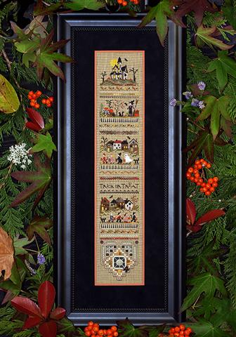 click here to view larger image of Trick or Treat Sampler (chart)