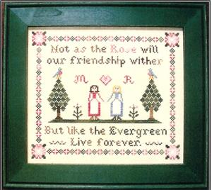click here to view larger image of Evergreen Friendship (chart)