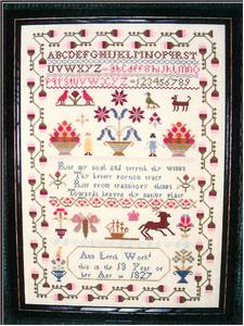 click here to view larger image of Ann Leech Sampler (chart)
