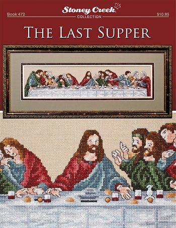 click here to view larger image of Last Supper (book)