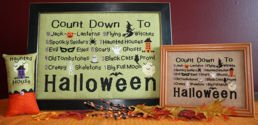 click here to view larger image of Countdown to Halloween (chart)