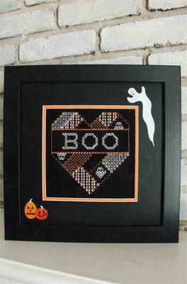 click here to view larger image of Boo Heart (chart)