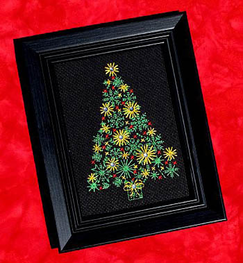 click here to view larger image of Christmas Tree (chart with charms/buttons)
