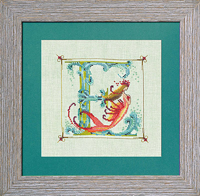 click here to view larger image of Letters From Mermaids - E (chart)