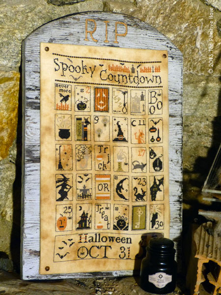 click here to view larger image of Spooky Countdown (chart)