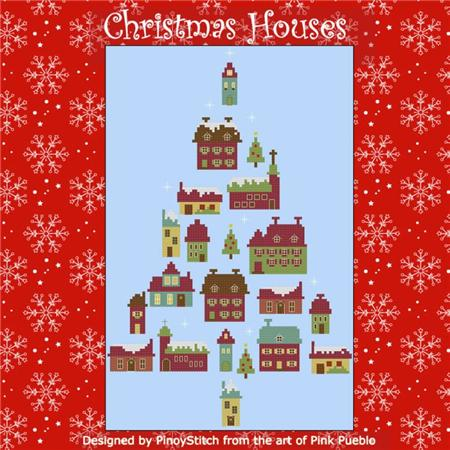 click here to view larger image of Christmas Houses (chart)