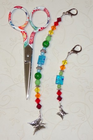 click here to view larger image of Gingher Julia 2013 Fob (accessory)