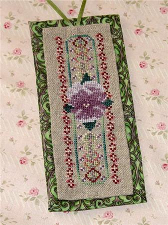 click here to view larger image of Purple Pansy Bookmark (chart)
