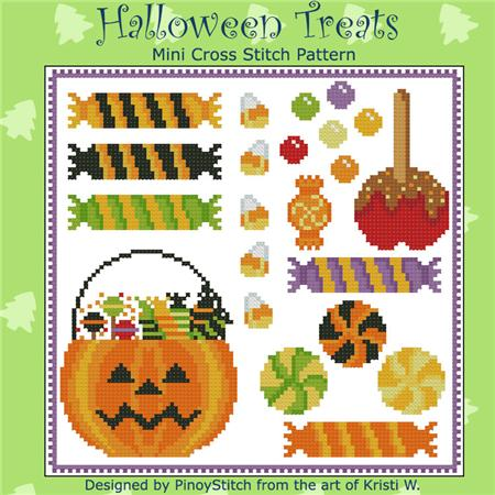 click here to view larger image of Halloween Mini Treats Sampler (chart)