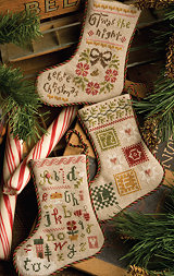 click here to view larger image of Flora McSample 2013 Christmas Stockings (chart)