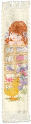 click here to view larger image of Candyfloss and Souffle bookmark (counted cross stitch kit)