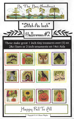 click here to view larger image of Stitch An Inch  - Halloween 2 (chart)