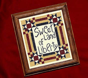 click here to view larger image of Sweet Land of Liberty (chart)