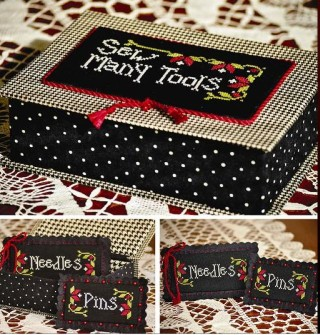 click here to view larger image of Sew Many Tools (chart)