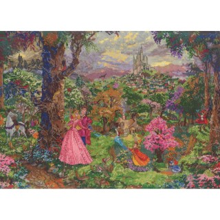 click here to view larger image of Sleeping Beauty 16x12 (counted cross stitch kit)