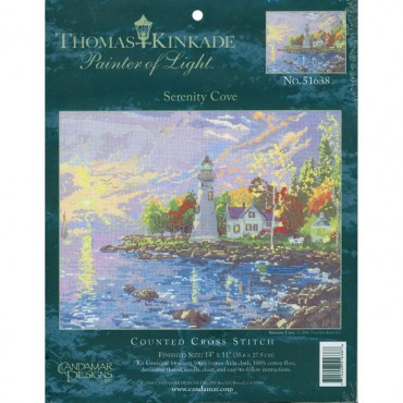 click here to view larger image of Serenity Cove (embellished cross stitch kit)