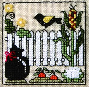 click here to view larger image of Itty Bitty Kitty - Garden (chart)