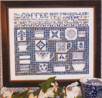 click here to view larger image of China Blue Sampler (chart)