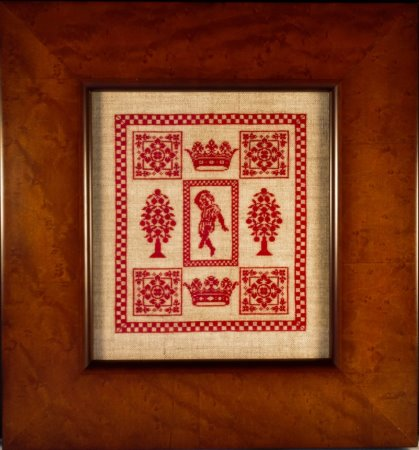 click here to view larger image of Splendor XXV - Dance (counted cross stitch kit)