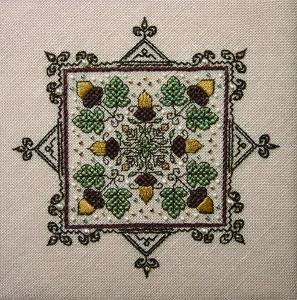 click here to view larger image of Acorn Medley (counted cross stitch kit)