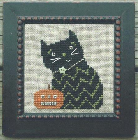 click here to view larger image of Lil Jack and The Kitty (counted cross stitch kit)