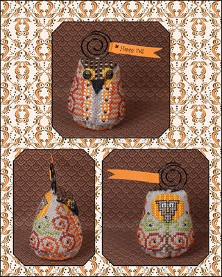 click here to view larger image of Oakley Owlet (chart with charms/buttons)