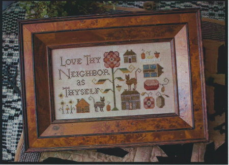 click here to view larger image of Love Thy Neighbor (chart)