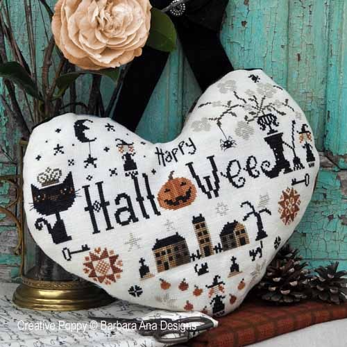 click here to view larger image of Halloween Heart (chart)