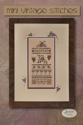 click here to view larger image of Mini Vintage Grape Stitches (chart)