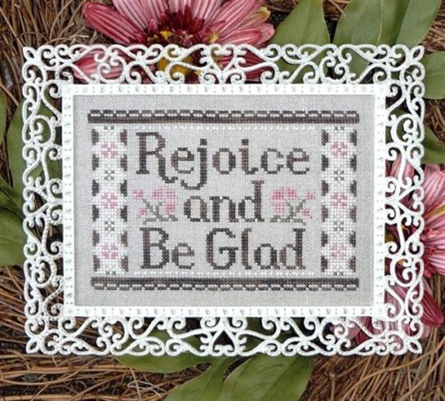 click here to view larger image of Rejoice and Be Glad (chart)