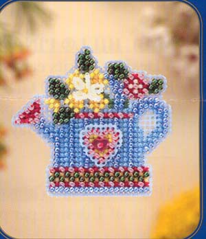 click here to view larger image of Flower Showers (counted cross stitch kit)