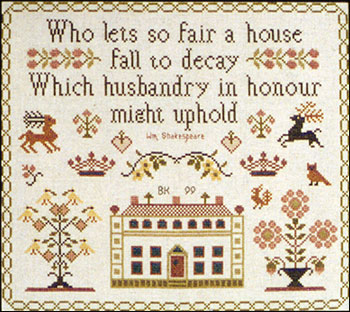 click here to view larger image of So Fair A House Sampler (chart)