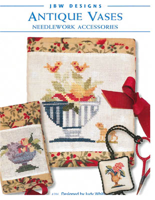 click here to view larger image of Premade Needlecase - Antique Vase Needlework Accessories (chart)