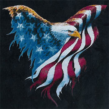 click here to view larger image of Born To Be Free - Kit (counted cross stitch kit)