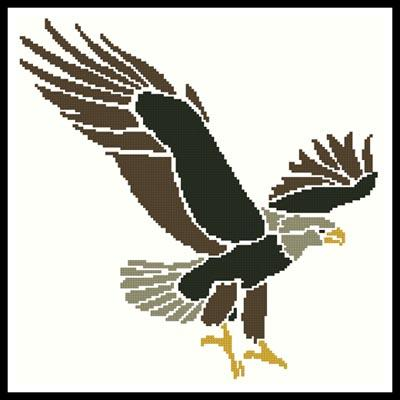 click here to view larger image of Eagle Design (chart)