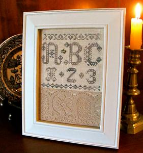 click here to view larger image of Elegant Lace Sampler (Limited Edition) (chart)