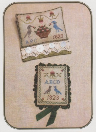 click here to view larger image of Ann Blockley's Pin Keeps (chart)
