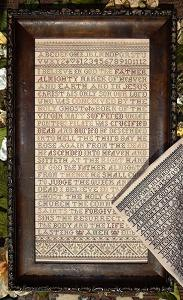 click here to view larger image of Apostles' Creed, The - A Reproduction Style Sampler (chart)