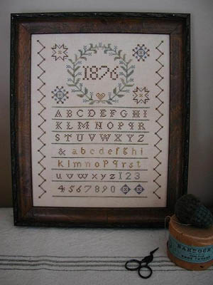 click here to view larger image of Centennial Sampler (chart)