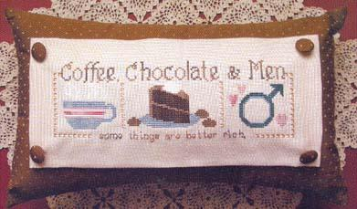 click here to view larger image of Coffee, Chocolate and Men (chart)
