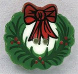click here to view larger image of Wreath (buttons)