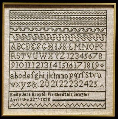click here to view larger image of Emily Bronte Sampler (chart)