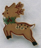 click here to view larger image of Reindeer  (buttons)