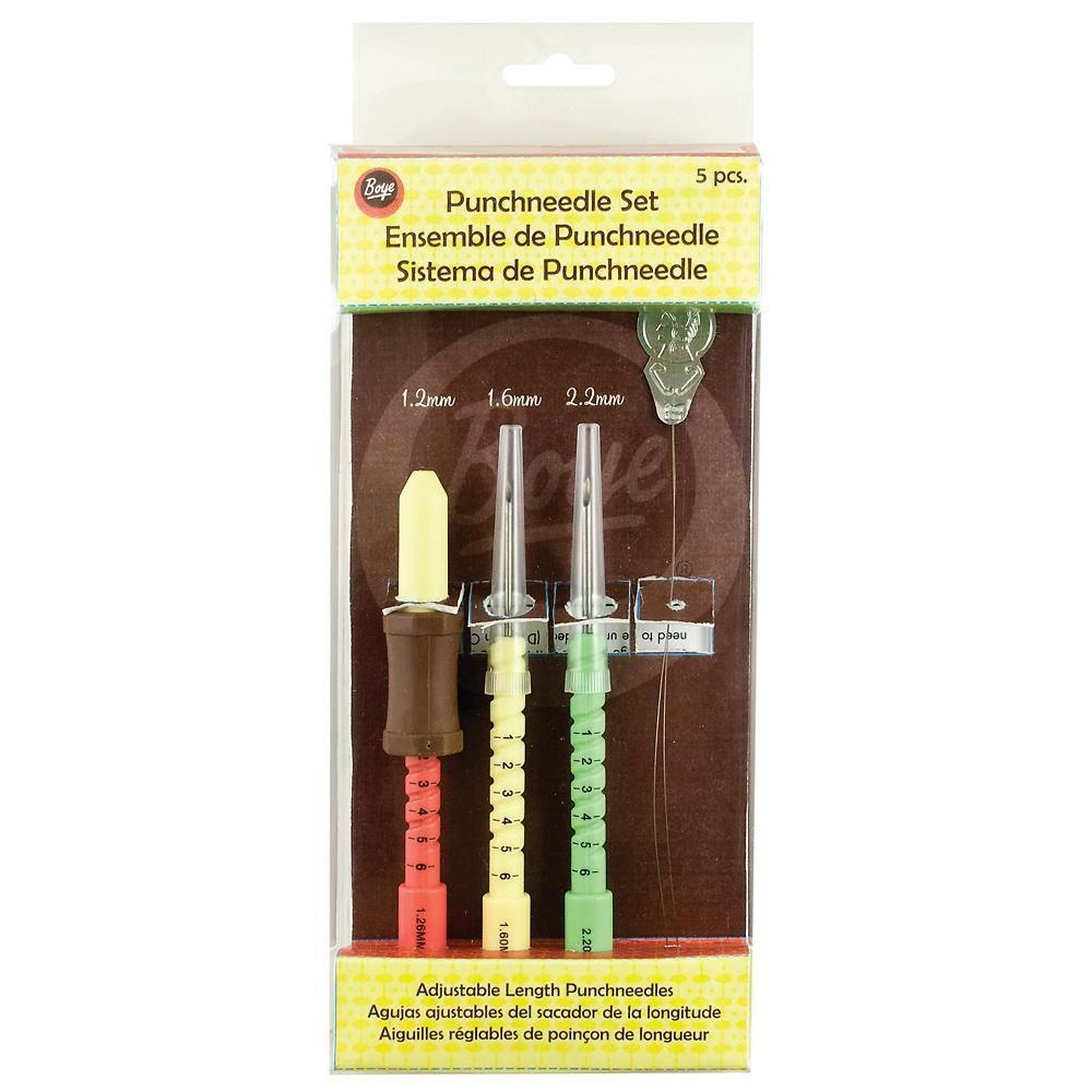 click here to view larger image of Boye Punchneedle Set (needles)
